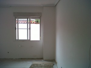 retirada de gota en paredes vivienda