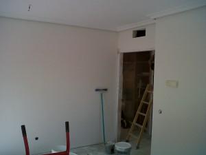 lijado de paredes y techos eliminación defectos y grietas