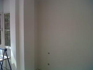 alisado paredes eliminación grietas con velo