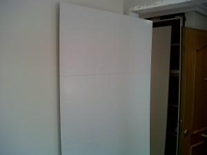 montaje de puertas interior vivienda lacadas en blanco 4 lineas