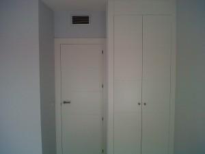 puertas lacadas en blanco