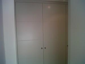 frente armario lacado blanco