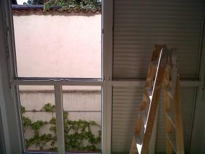 instalación nuevo cerramiento pvc blanco 2