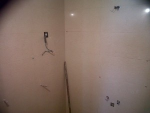 alicatado paredes material porcelánico rectificado 80x25