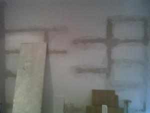 tapado rozas paredes y grietas