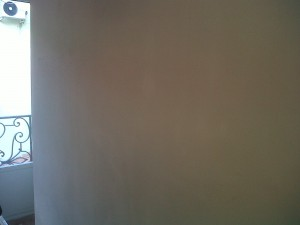 alisado preparación paredes