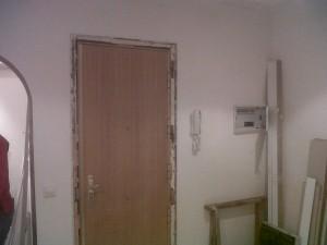 puerta entrada a vivienda