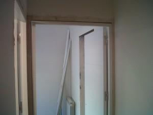preparación precercos para nuevas puertas