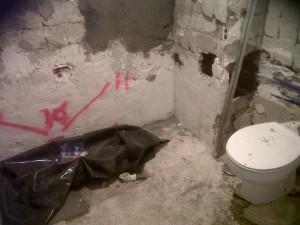 demolición de bañera por plato de obra