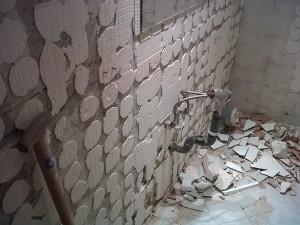 demolición azulejos baño 2
