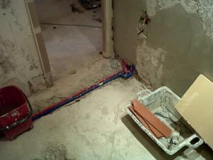 instalaciones cobre fontanería red agua fria caliente
