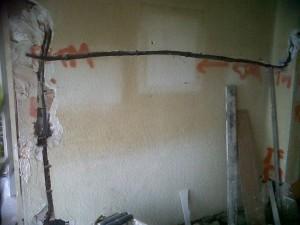 preparación de paredes reforma y rozas instalaciones 2