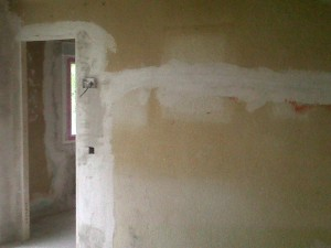 tapado rozas paredes