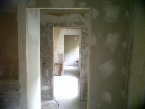 nuevas paredes redistribución interior en pladur