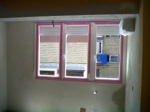 cerramientos y enlucido de yeso paredes