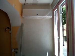detalle cerramiento aire acondicionado paredes enlucidas 2