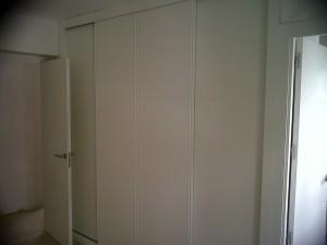 frentes armarios y puertas lacadas blanco