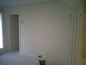 aplicación pintura decorativa en liso