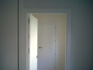 detalle carpintería puertas
