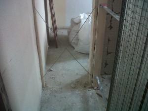 sistema cassoneto para puerta corredera y cercos pino para puertas