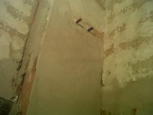 preparación paredes baño 2