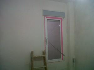 habitación enlucido alisado paredes y techos