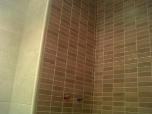 alicatado nuevo en baño zona ducha