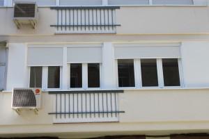 cerramiento fachada terminado y compresor aire acondicionado 2