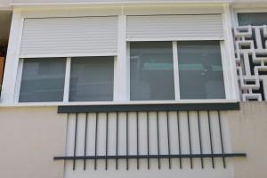 cerramiento fachada terminado