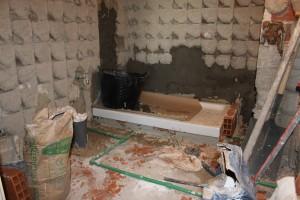 proceso de reforma de baño instalaciones fontanería