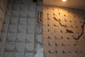 demolición baño azulejos