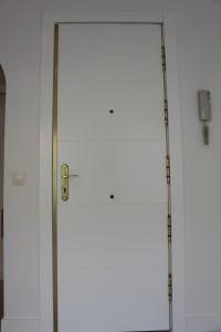 puerta entrada panelada