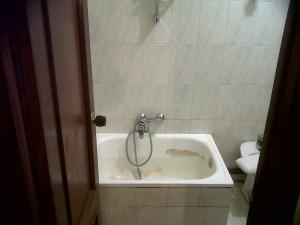 entrada baño original