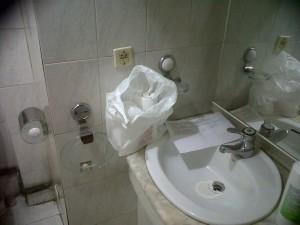 antes de la reforma del baño