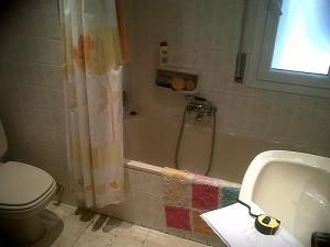 antes de reforma baño