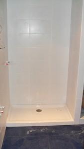 reformado plato de ducha en lugar de bañera