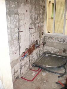 reforma de baño grande instalaciones