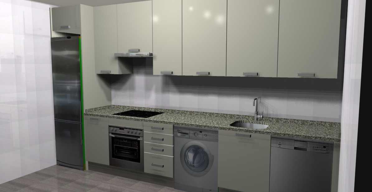 Reformas de cocinas empresa reformas madrid for Muebles de cocina planos pdf