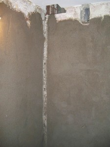 preparación de paredes antes de alicatar