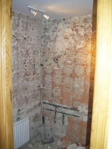 reforma de baño demoliciones
