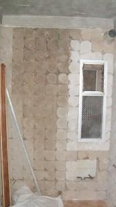 reforma de baño demolición