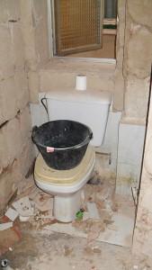 demolición baño